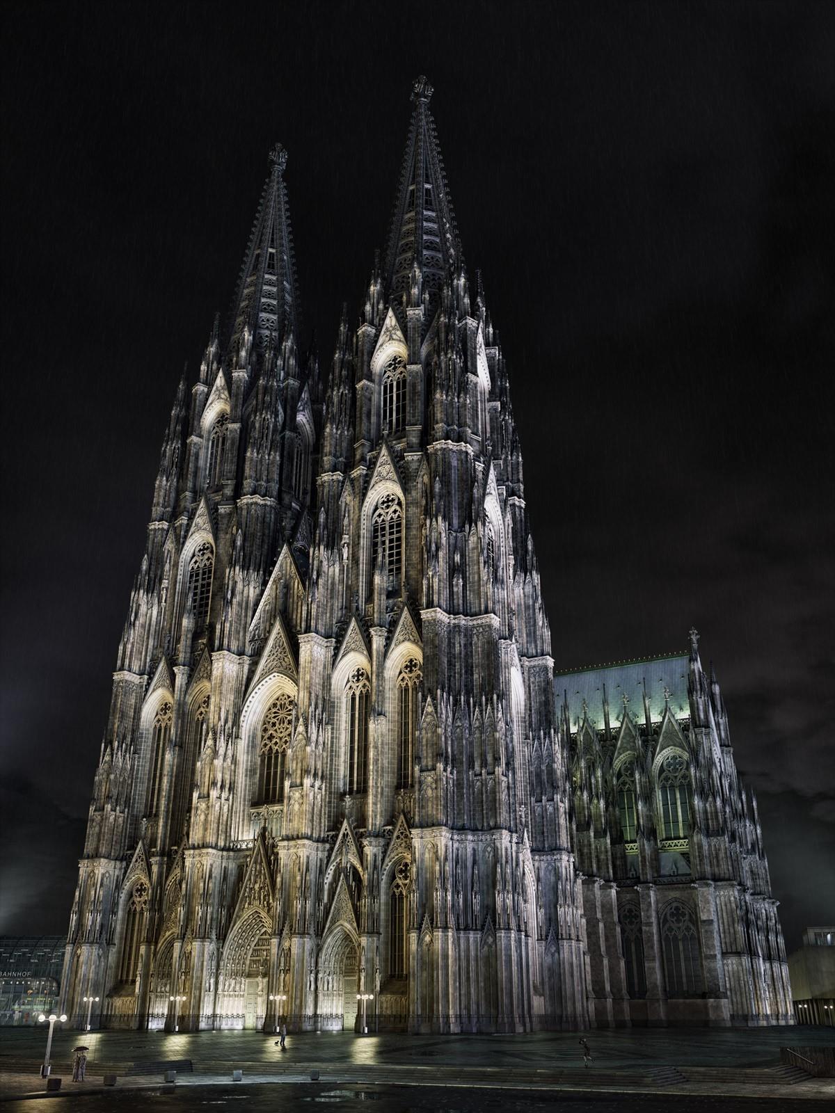 Cologne Cathedral Kolner Dom By Grau 3d Cgsociety