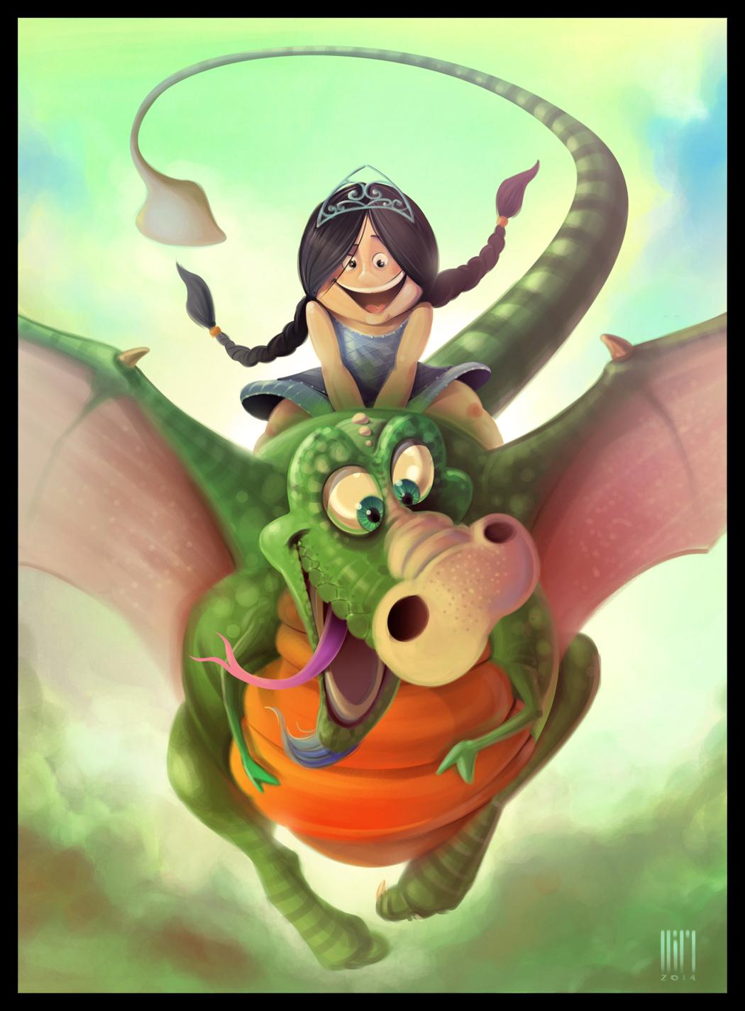 Смешные картинки драконов девочек, добрый день