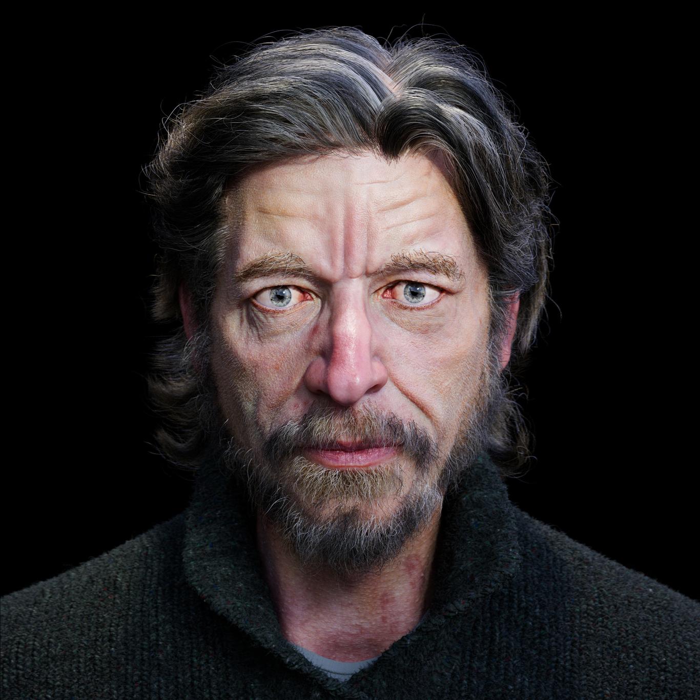 Portrait of Karl Ove Knausgaard