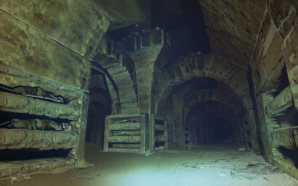 Jameswolf catacomb halls 1 dfceaaba paac