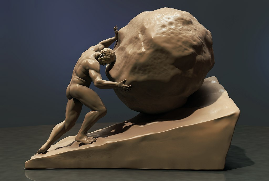 Sisyphus by JokerMax | 3D | CGSociety