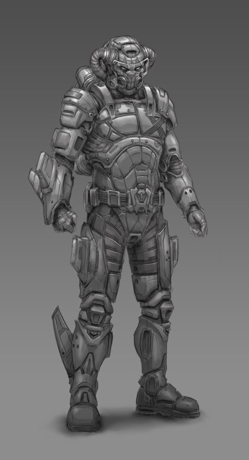 Space Suit concept by joseart | 2D | CGSociety