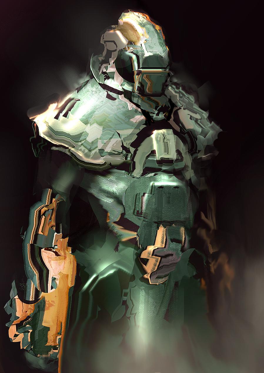 Sci-Fi knight 01