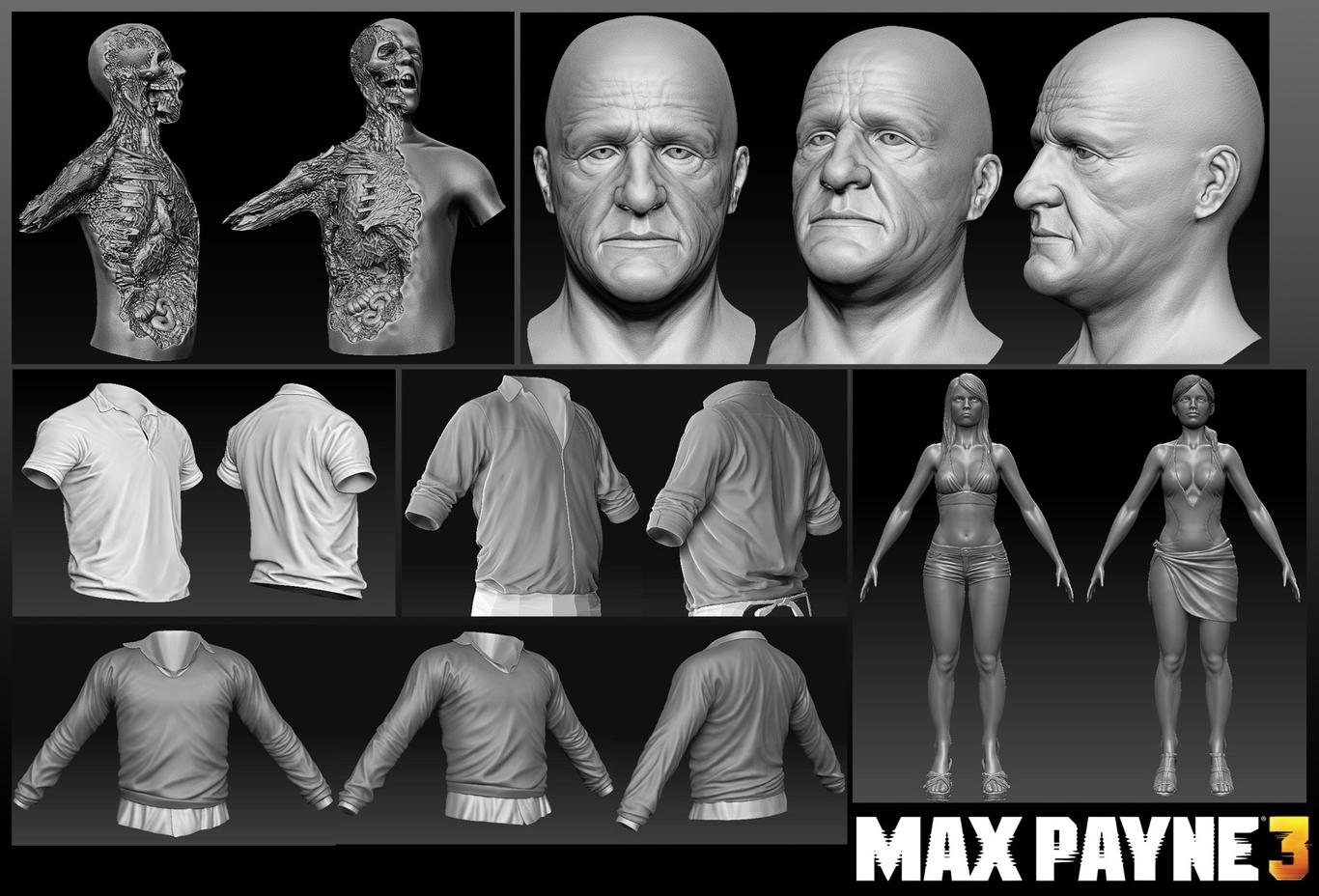 max payne 3 concept art