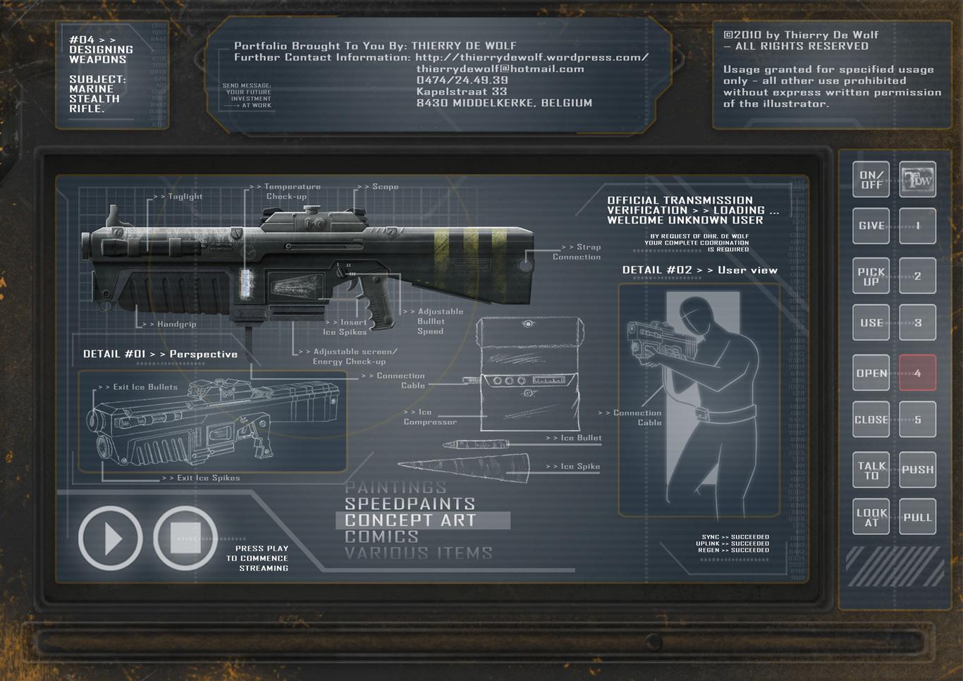 Mc13 sci fi portfolio gun 1 7ce93c9f kr72