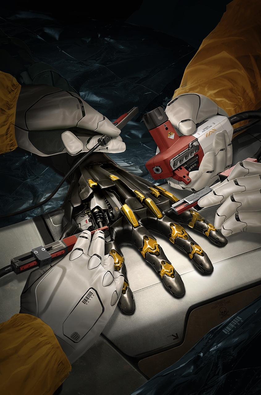 Deus Ex Comic Cover.