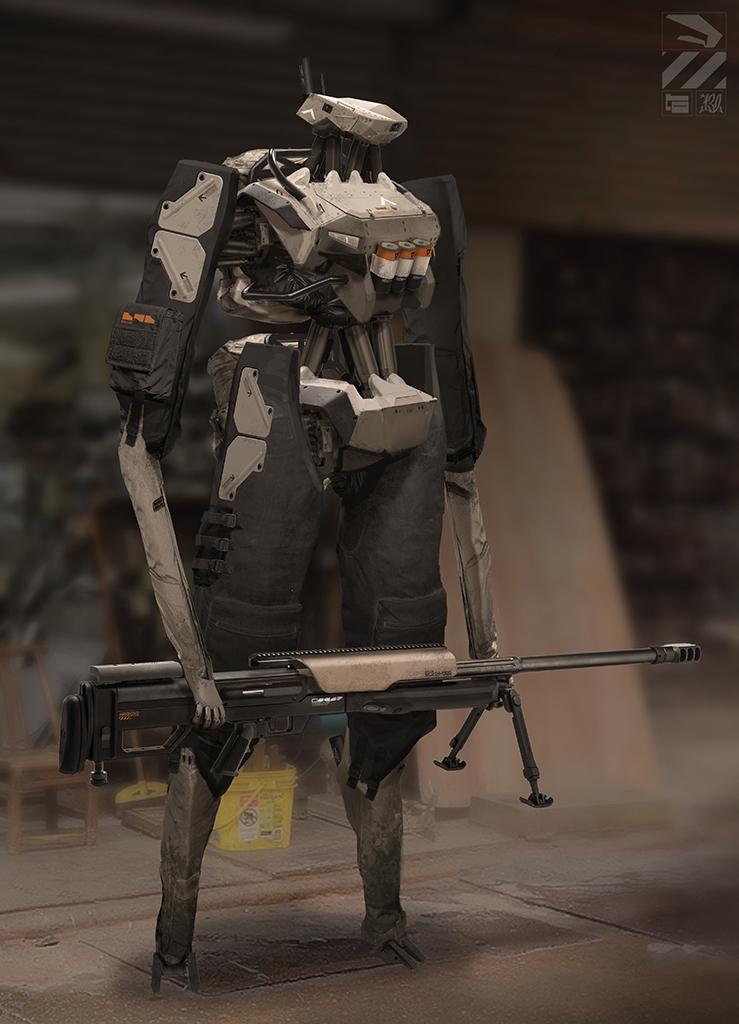 Robot Sniper.
