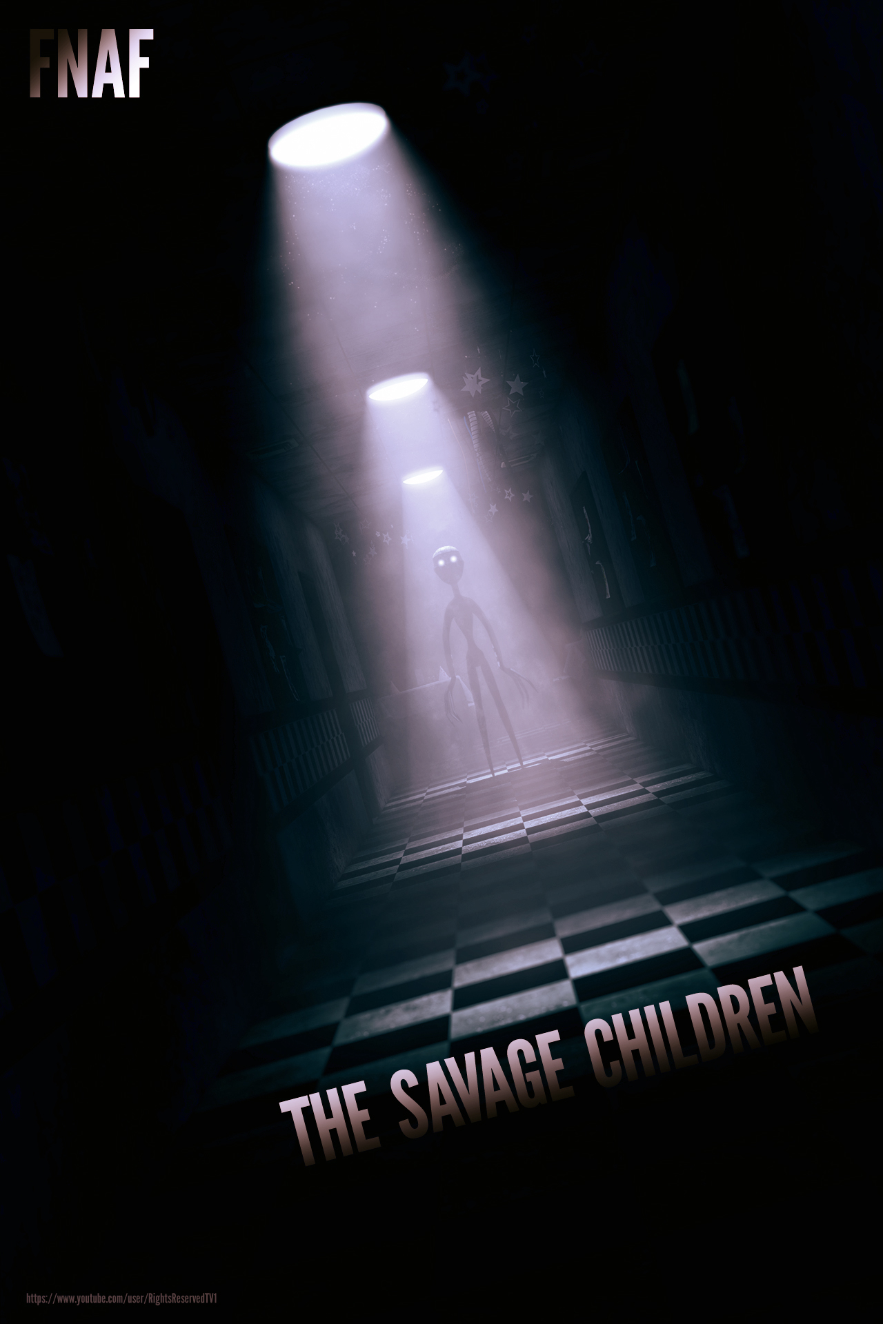 FNAF: The Savage Children - Movie Poster by rights0reserved1