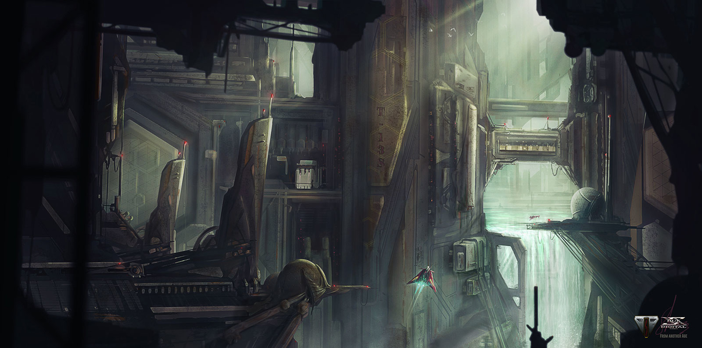 From another age - Concept Art 1 - MECHCITY