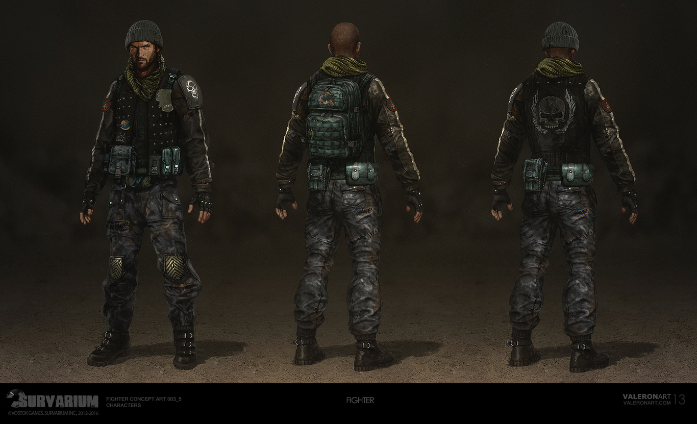 SURVARIUM - Fighter | Concept art