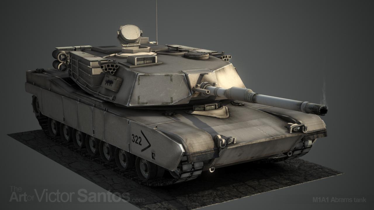 Victorsantos m1a1 abrams tank 1 f008d069 eb93