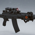 Weapon design based AK-12