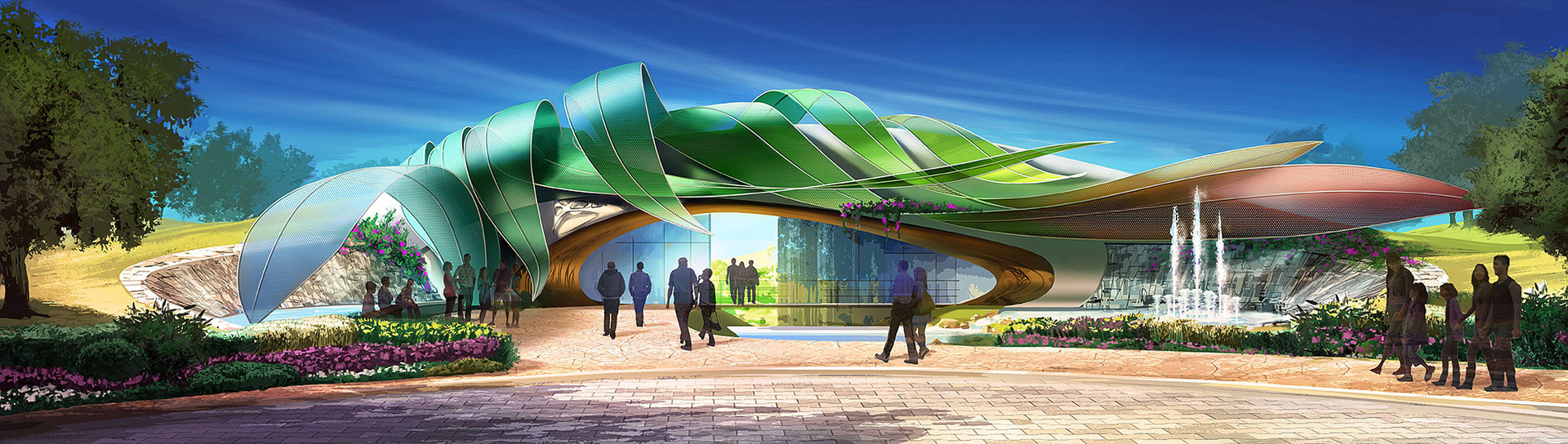 网络研讨会:一个全新的世界:Luc Steadman的主题环境设计