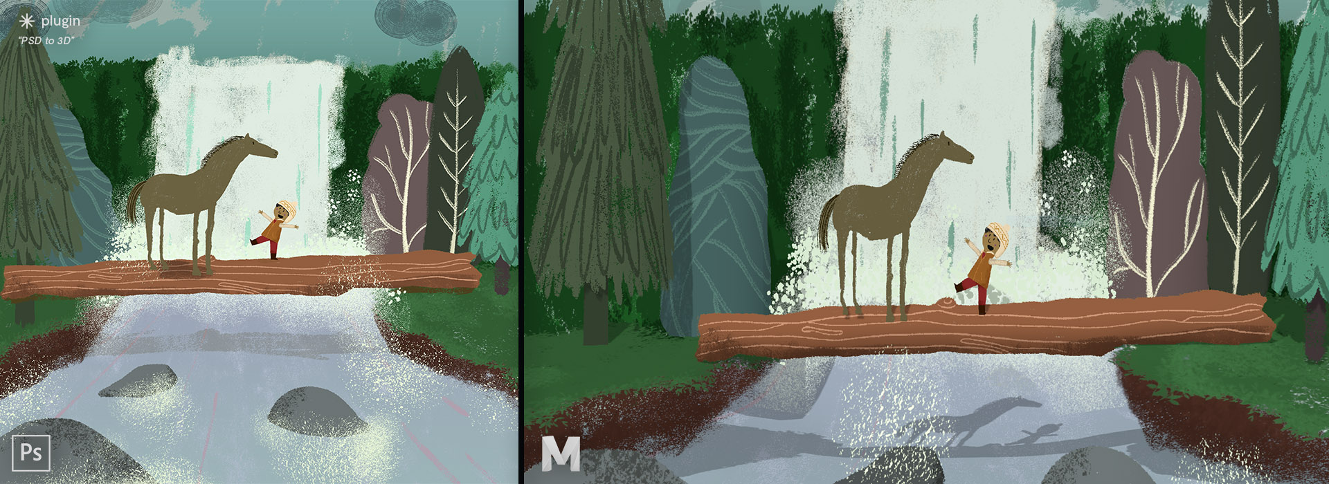 New Tool Creates 3D Scenes Out of Photoshop Drawings - article