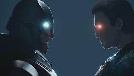 Batman vs Superman (Blender 3D animation)