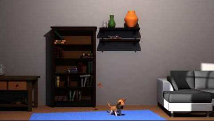 Playful Kitten (Animation)