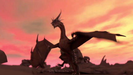 Dragon Landing (Animation)