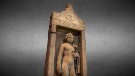 Attic burial stele