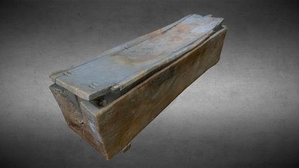 Rectangular coffin Egyptian