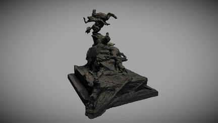 Saint Georges (draft sculpture)
